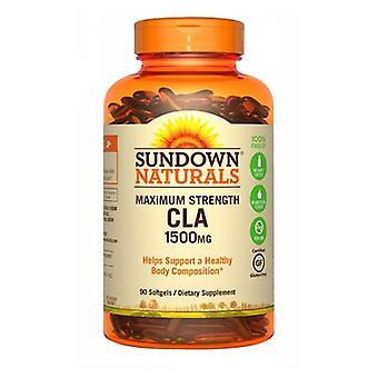 Sundown Naturals Maximum Strength CLA, 1500 mg, 12 X 90 Softgels