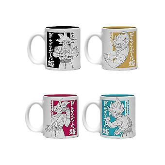 Dragon Ball Super Goku Mini Mug Set