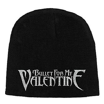 Bullet For My Valentine Beanie Hat Cap Band Logo Official New Black Jersey Print