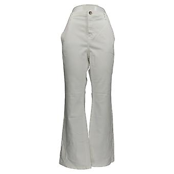 BROOKE SHIELDS Timeless Women's Jeans Timeless Flare Jeans White A351363