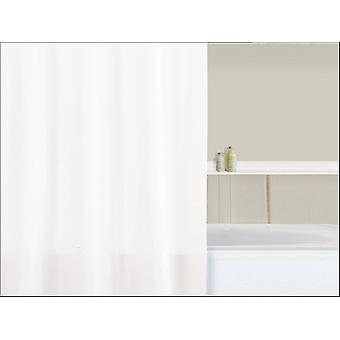 Home Label Shower Curtain Plain White 95010