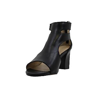 Adrienne Vittadini Womens rea Open Toe Casual Mule Sandals
