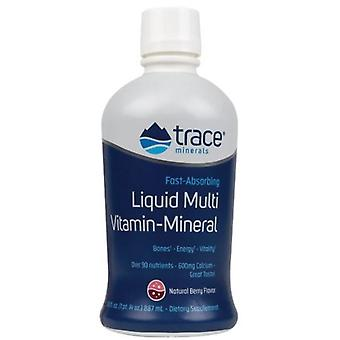 Trace Minerals Liquid Multi Vitamin Mineral 887 ml