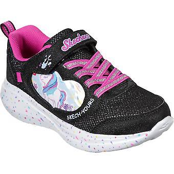 Skechers Girls Go Run Fast Miss Crafty Sports Trainers