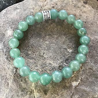 Grøn Aventurine armbånd