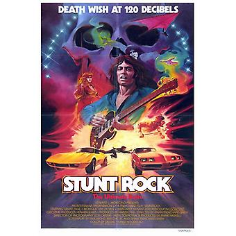 Stunt Rock Movie Poster Print (27 x 40)