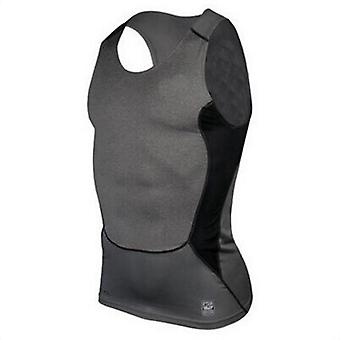 Men Sleeveless Sport Vest Man Compression Sport Tight Shirt
