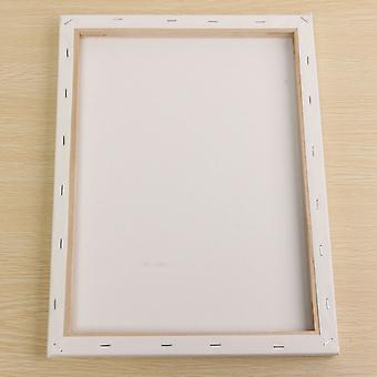Blank Square Artist Canvas Painting Drawing Board Wooden Frame Oil For Primed