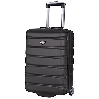 Flight knight cabin & hand luggage lightweight 55x35x20cm on board carry on case easyjet ba approved