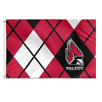 Ball State University Argyle Muster Flagge
