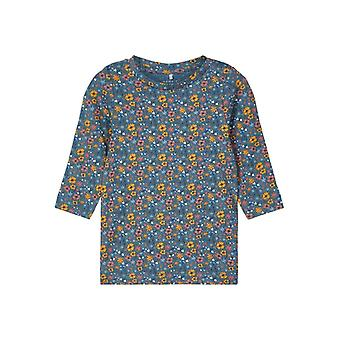 Namn-it Girls Tshirt Silke Rela Teal