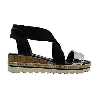 Nine West Womens Molly Fabric Open Toe Casual Gladiator Sandals