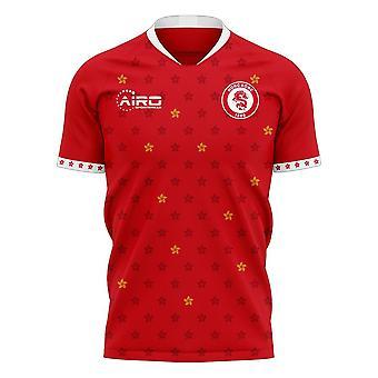 Hong Kong 2020-2021 Home Concept Football Kit (Libero)