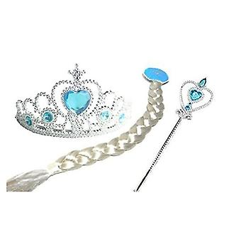 Cosplay Headband, Unisex Headwear, Magic Wand+ Crown +gloves + Hair Accessory