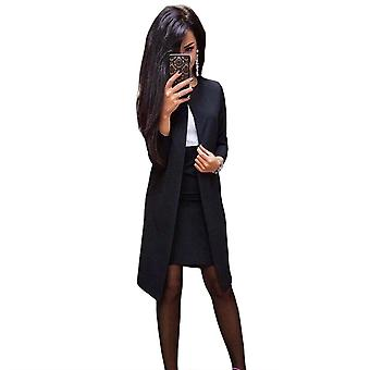 Two Pieces Women's Sets Casual Slim Blazer Jacket