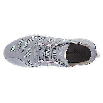 Ecco Womens 2021 Zipflex Breathable Mesh Fluidform Comfort Leather Trainers
