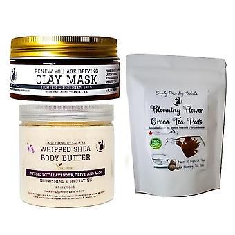 Tea Time Skincare Set