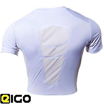 Eigo Compression Base Layer Short Sleeve White
