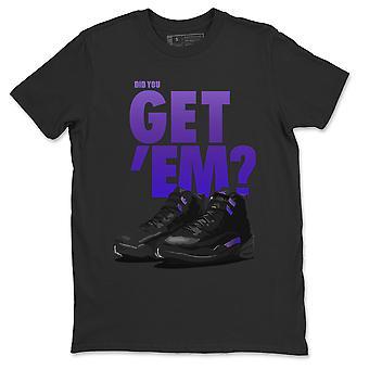 Did You Get 'EmShirt Jordan 12 Dark Concord Sneaker Match- AJ12 Top