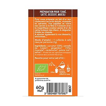 Turmeric Latte Ginger 60 g of powder