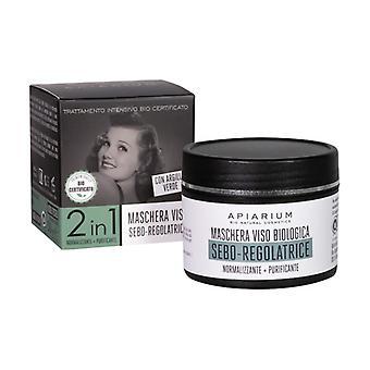 Bio Sebum Regulating Face Mask 50 ml of cream