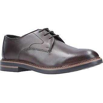 Base Wayne Burnished Mens Leather Formal Shoes Cocoa UK Size