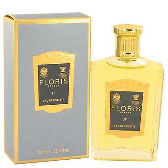 Floris Jf Eau De Toilette Spray By Floris 3.4 oz Eau De Toilette Spray