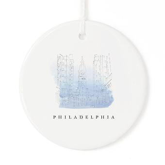 Philadelphia-Kerstmis Ornament