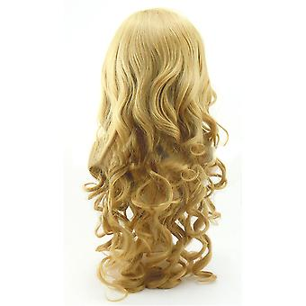 Long Curled Hair Cap Wig