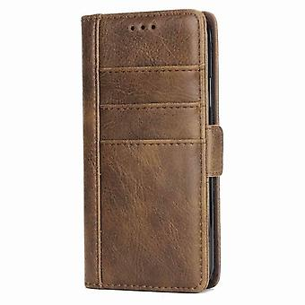 Leather Case for Samsung Galaxy S8 - Brown