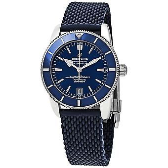 Breitling Superocean Heritage II Automatic Chronometer 42 mm Blue Dial Men's Watch AB2010161C1S1
