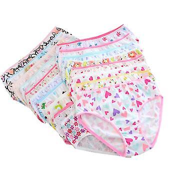 Bragas de algodón para niñas, ropa interior de calzoncillos