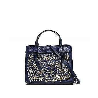 Campomaggi Mini Star Embellished Leather Bag