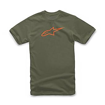 Alpinestars Men's T-Shirt ~ Ageless military orange