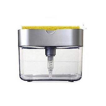 Distributeur de savon liquide en acier inoxydable Head 300ml Kitchen Sink