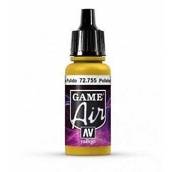 Vallejo Game Air 17ml Acrylic Airbrush Paint 72.755 Polished Gold