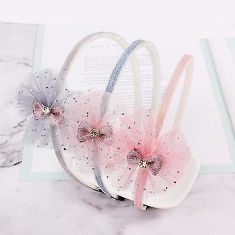 1pcs niedliche Farben Bowtie Cartoon Haar Reifen Haarbänder
