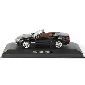 Mercedes Benz SL 600 (2003) Diecast model auto