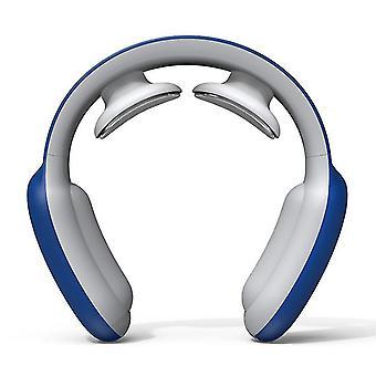 ブルー スマート 電動ネックと肩 マッサージャー痛み軽減 ヘルスケア ツール az4715