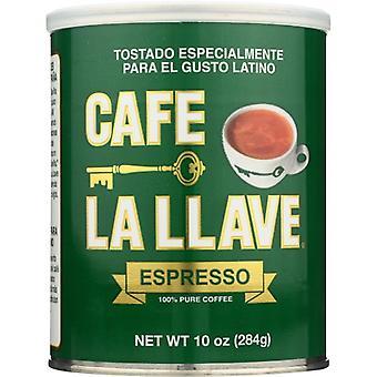 Café La Llave Espresso Café Pur, Cas de 6 X 10 Oz