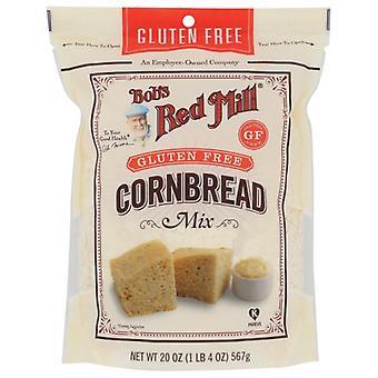 Bobs Red Mill Mix Cornbread, Fodral på 4 X 20 Oz