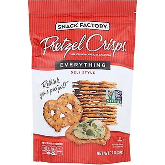 Snack Factory Bretzel Crisp Everything, Cas de 12 X 7,2 Oz