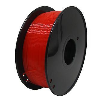 X moonlee 3d pla خيوط 1.75mm 1kg 3d طابعة بلا ABS tpu petg الكربون 3d خيوط الطباعة البلاستيكية pla 3d pla أحمر شفاف