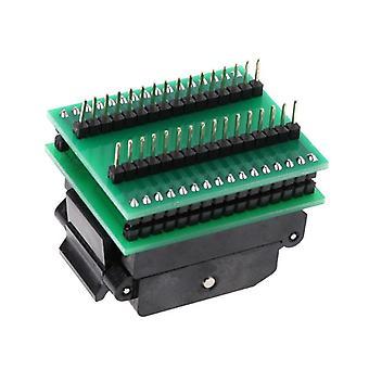 F19e tqfp32 qfp32 to dip32 ic programmer adapter chip test socket sa663 burning seat