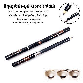 7.5g Portable Size Double Head Eye Makeup Eye Brow Pencil Pen Enhancer