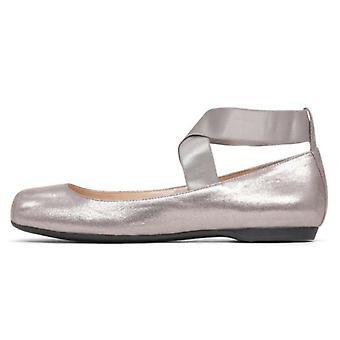 Jessica Simpson Womens Mandalaye Fabric Square Toe Ankle Wrap Ballet Flats