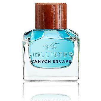 Hollister Canyon Escape For Him Edt Spray 50 Ml Pour Hommes