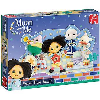 Moon & Me Jumbo Shaped Floor Puzzle