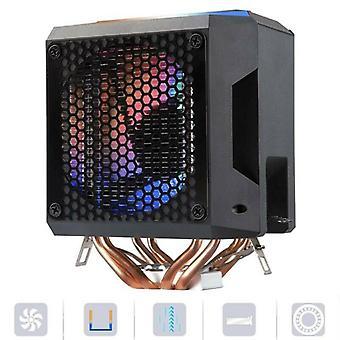 Low Noise CPU Cooler Fan Radiator Heatsink For AMD/775 /1150/1151/1155/1156