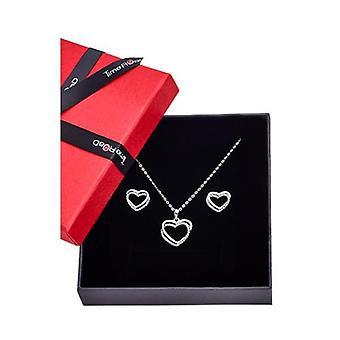 Lotus Juwelen Halskette & Ohrringe Geschenkset js00110